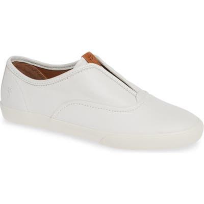 Frye Maya Slip-On Sneaker, White