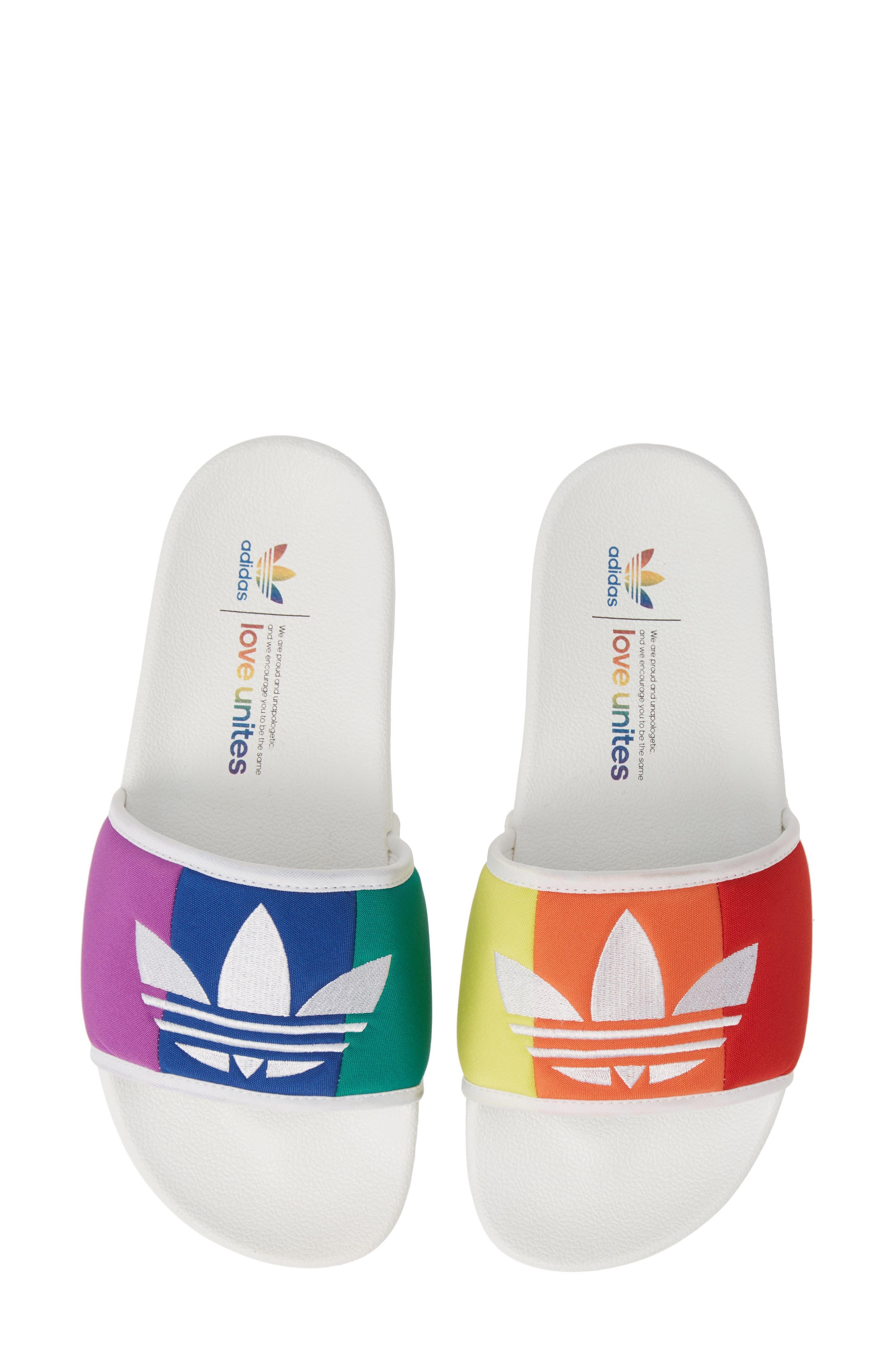 Adidas Adilette Pride Sport Slide, / 11 Men