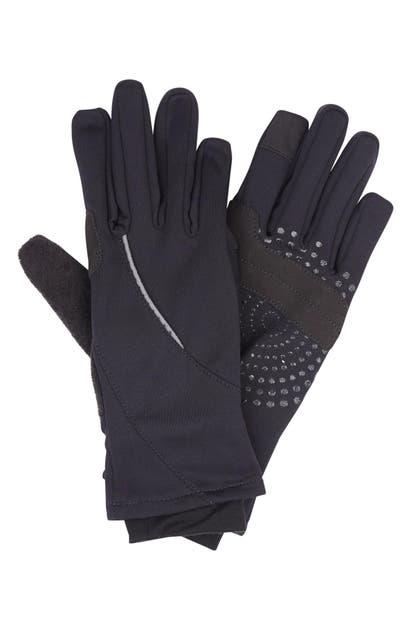 Sweaty Betty Tech Running Gloves In Black