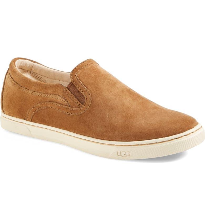 b14c0a87c2c Fierce Water Resistant Suede Slip-On Sneaker
