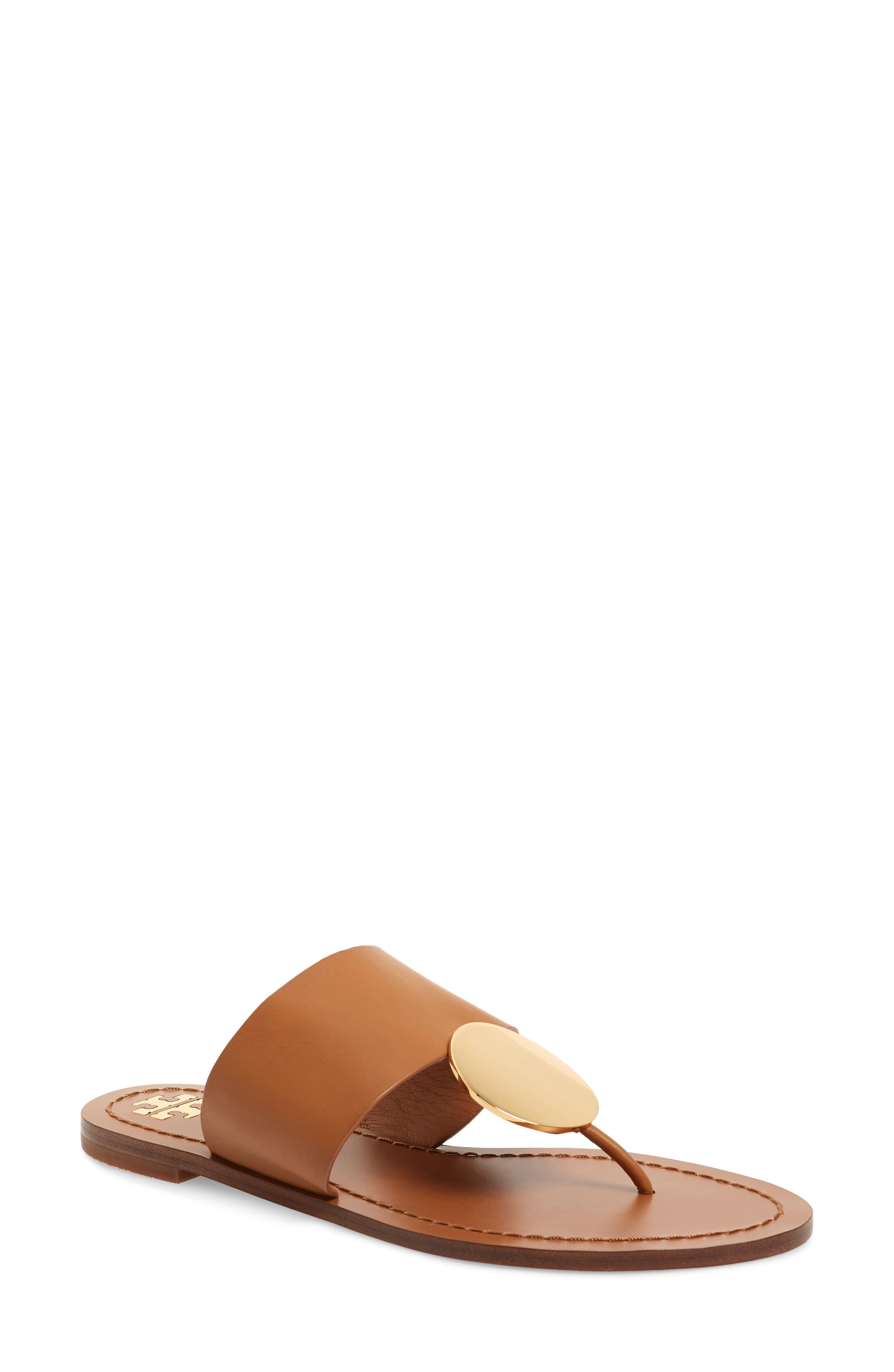 Tory Burch Patos Sandal, Brown