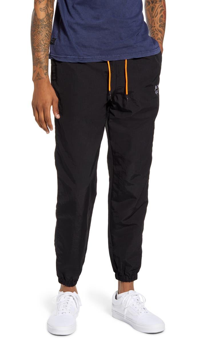 LIRA CLOTHING Full Court Nylon Jogger Pants, Main, color, 001