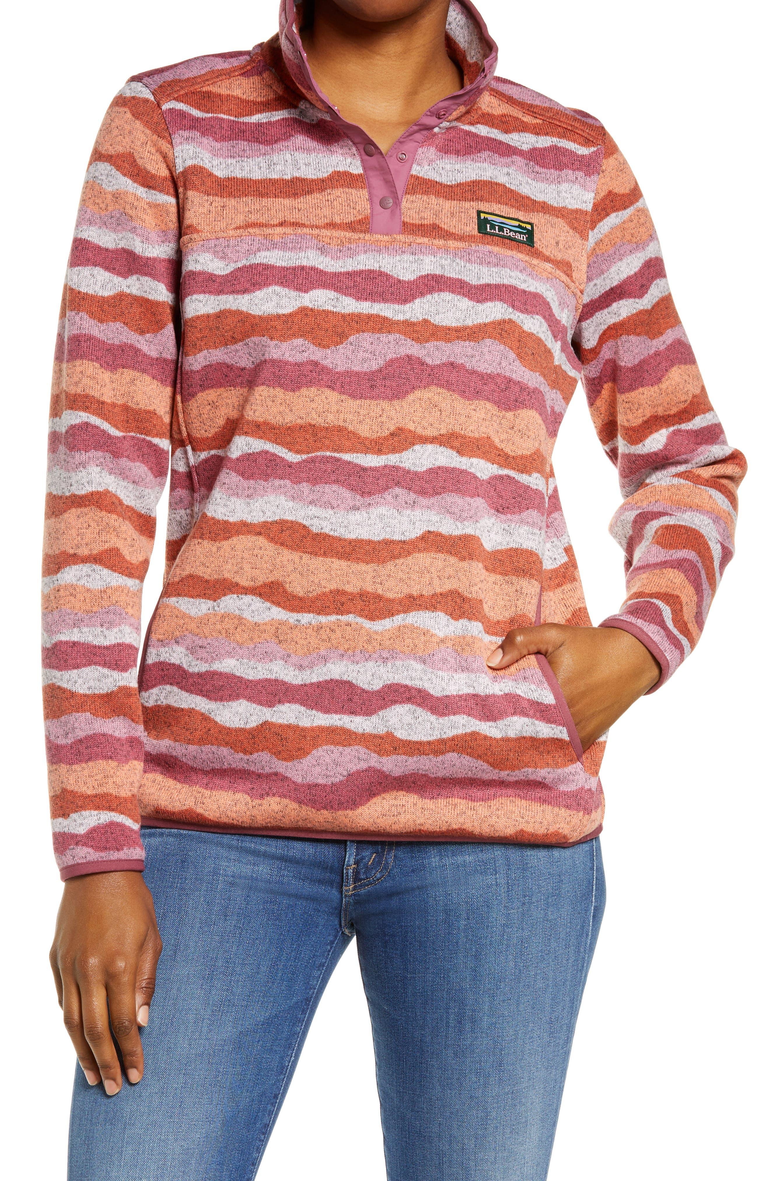 Pattern Sweater Fleece