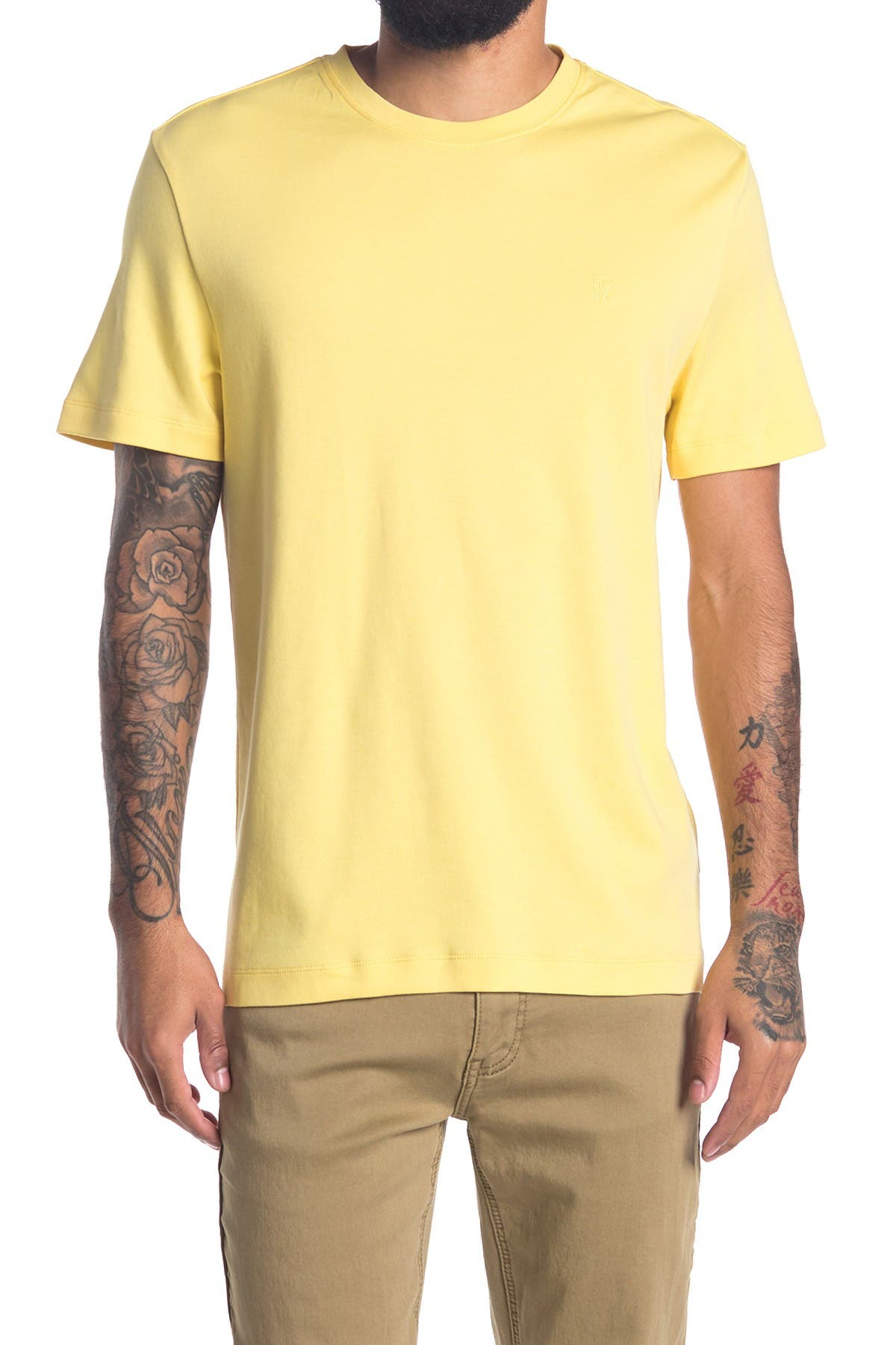 Image of DKNY Short Sleeve Basic T-Shirt