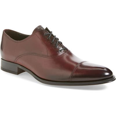 To Boot New York Brandon Cap Toe Oxford N - Burgundy (Nordstrom Exclusive)