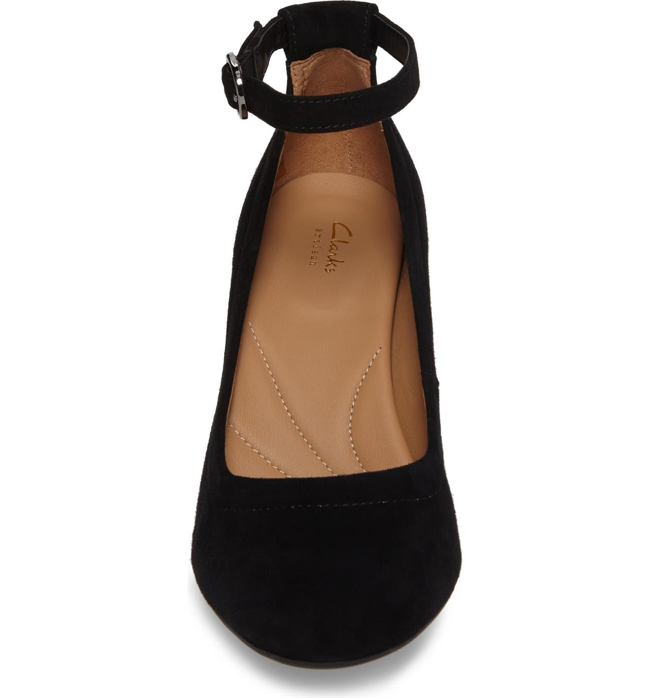 6424ffdeaa458 Clarks® Chryssa Jana Ankle Strap Pump (Women) | Nordstrom