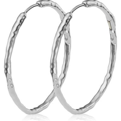 Monica Vinader Siren Muse Large Hoop Earrings