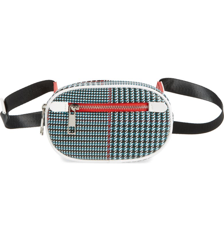 LIKE DREAMS Houndstooth Belt Bag, Main, color, 400