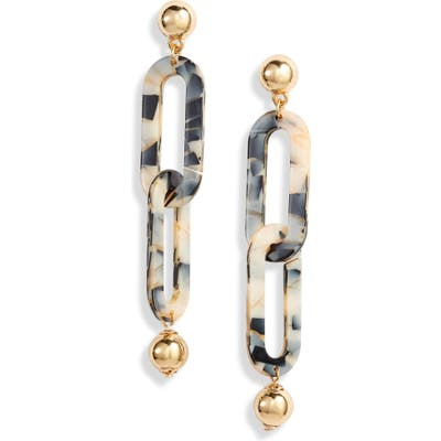 Ettika Link Statement Earrings