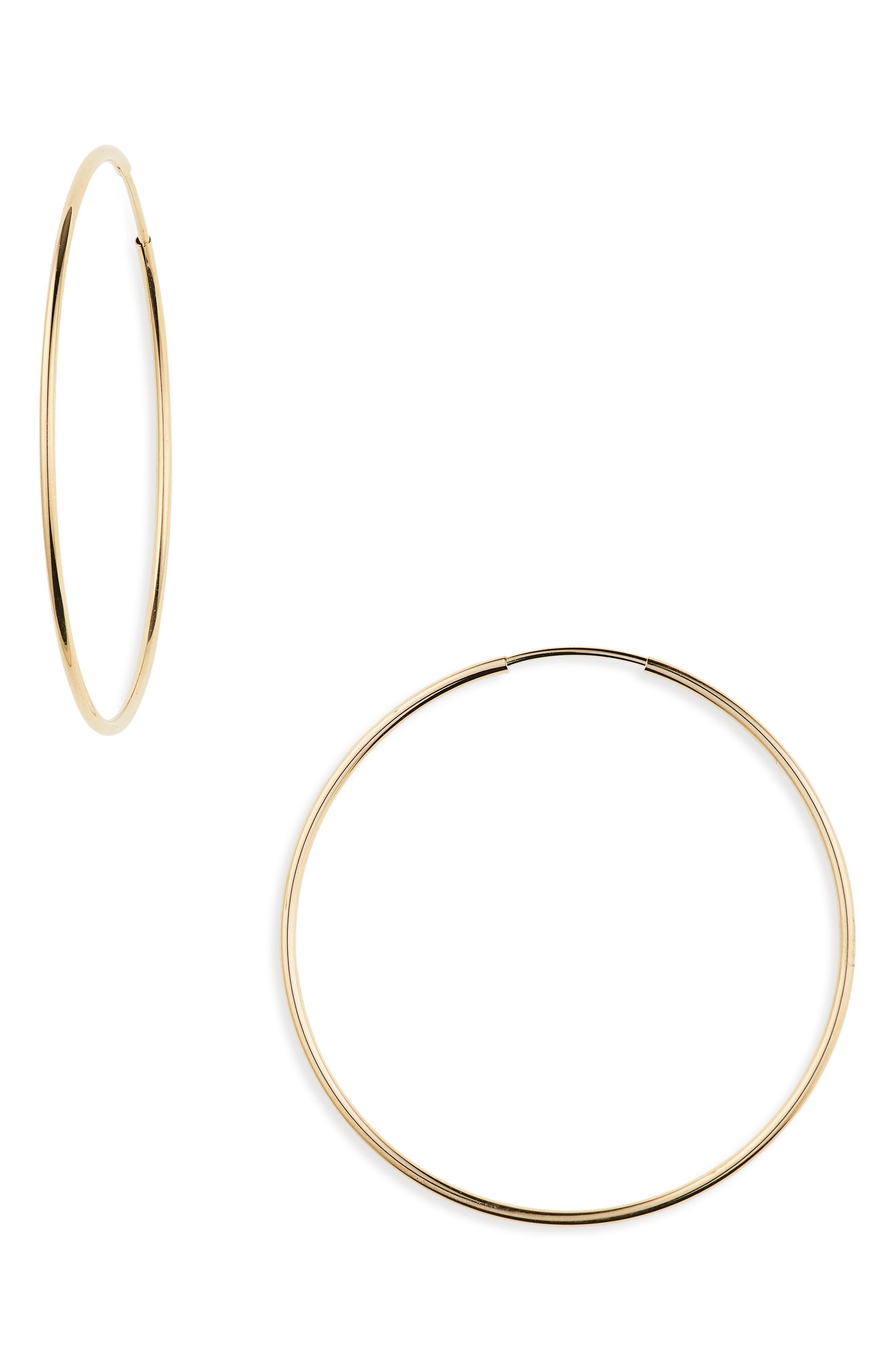 Nikita Hoop Earrings