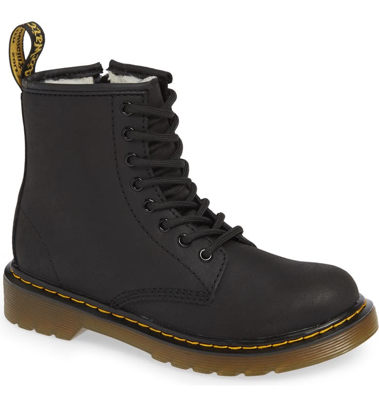 DR. MARTENS 1460 Serena Boot, Main, color, BLACK
