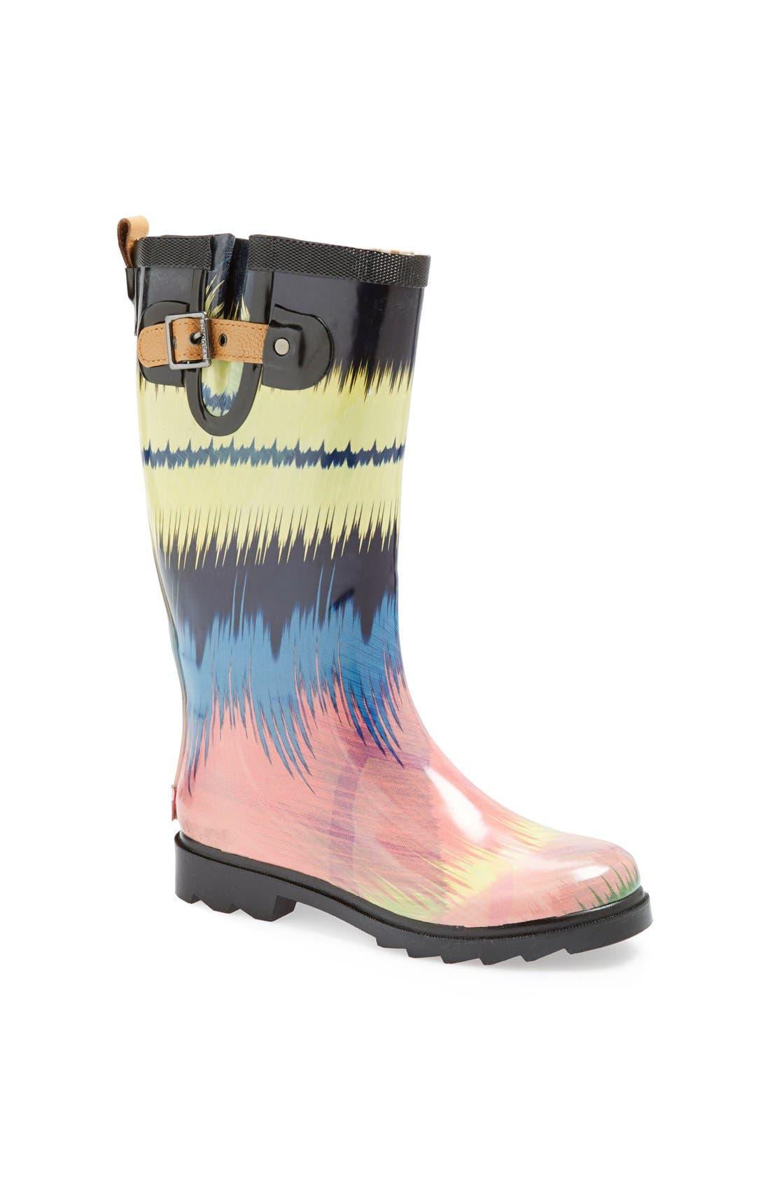 ,                             'Top Solid' Rain Boot,                             Main thumbnail 51, color,                             400