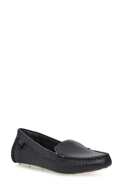 Image of UGG Flores Leather Driving Loafer