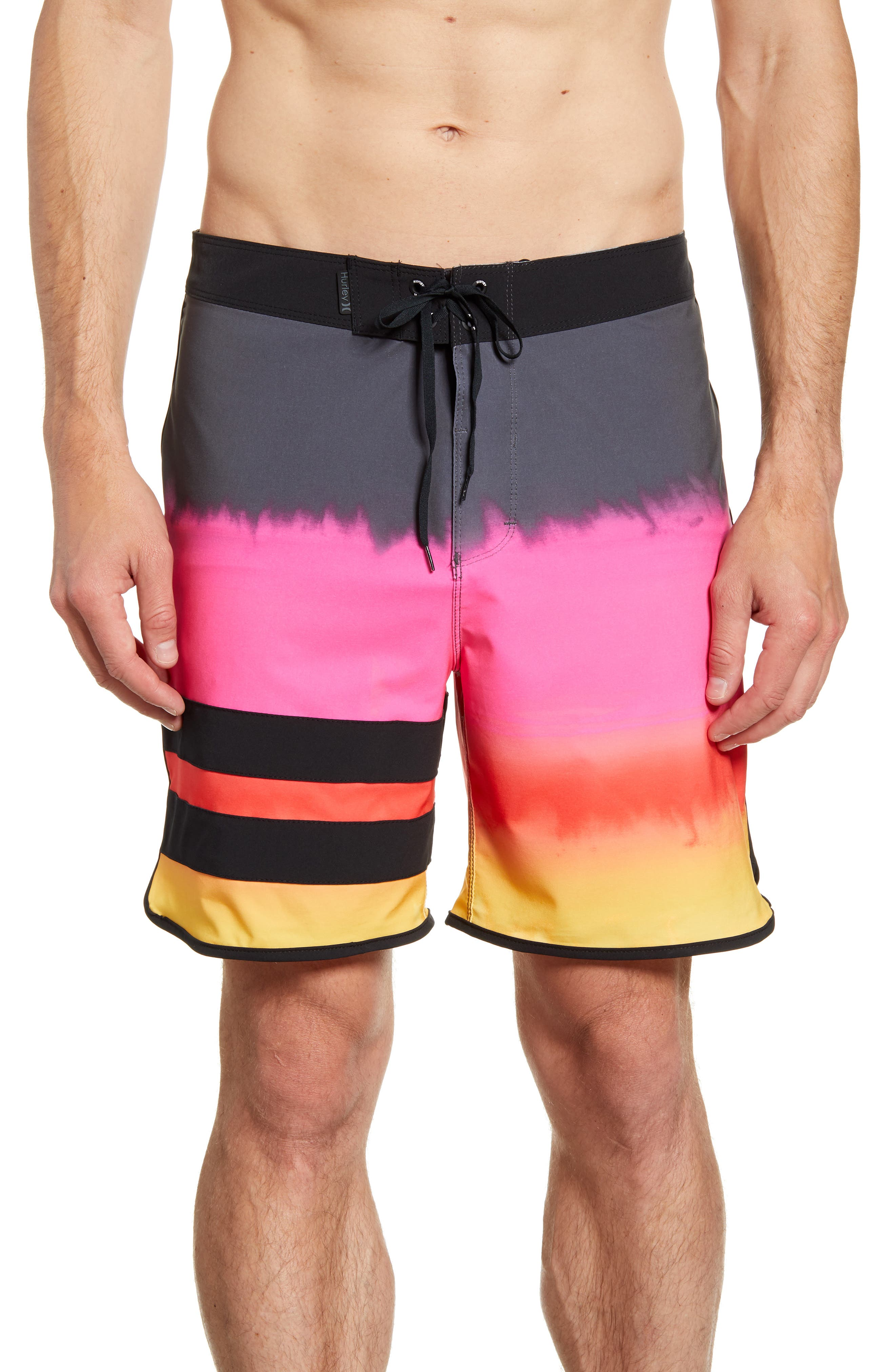 Hurley Phantom Block Party Fever Board Shorts