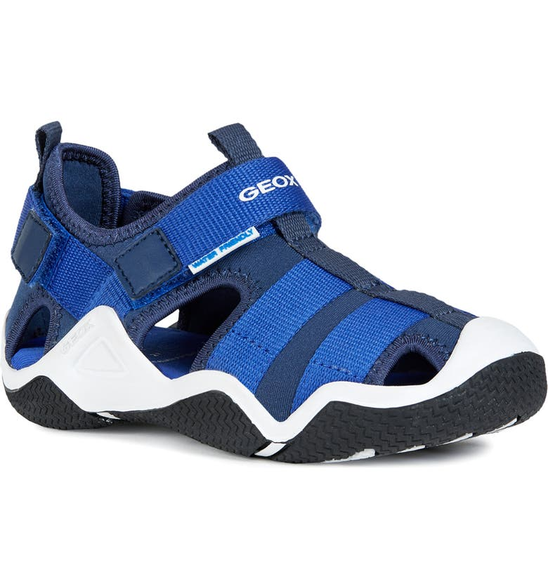 GEOX Wader 11 Water Friendly Sneaker, Main, color, NAVY/ ROYAL