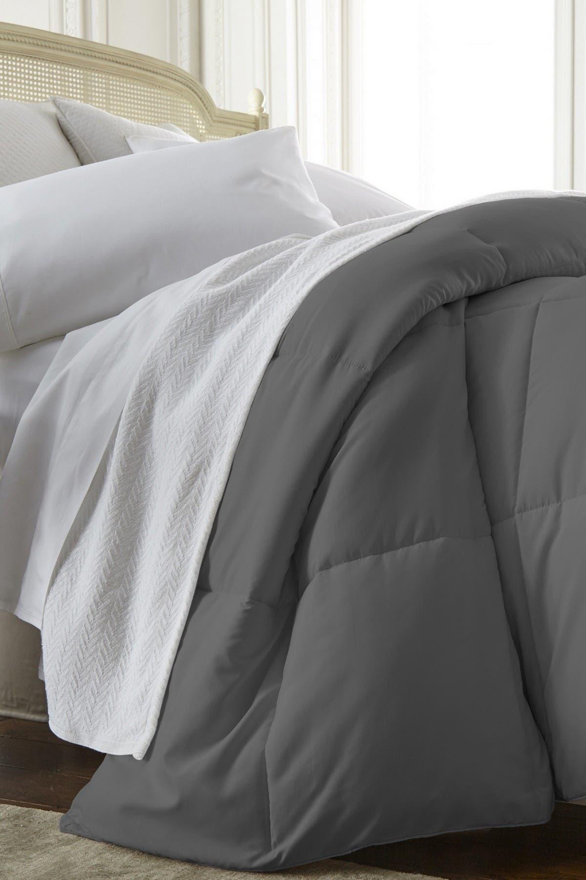 Image of IENJOY HOME Home Spun All Season Premium Down Alternative Twin Comforter - Gray