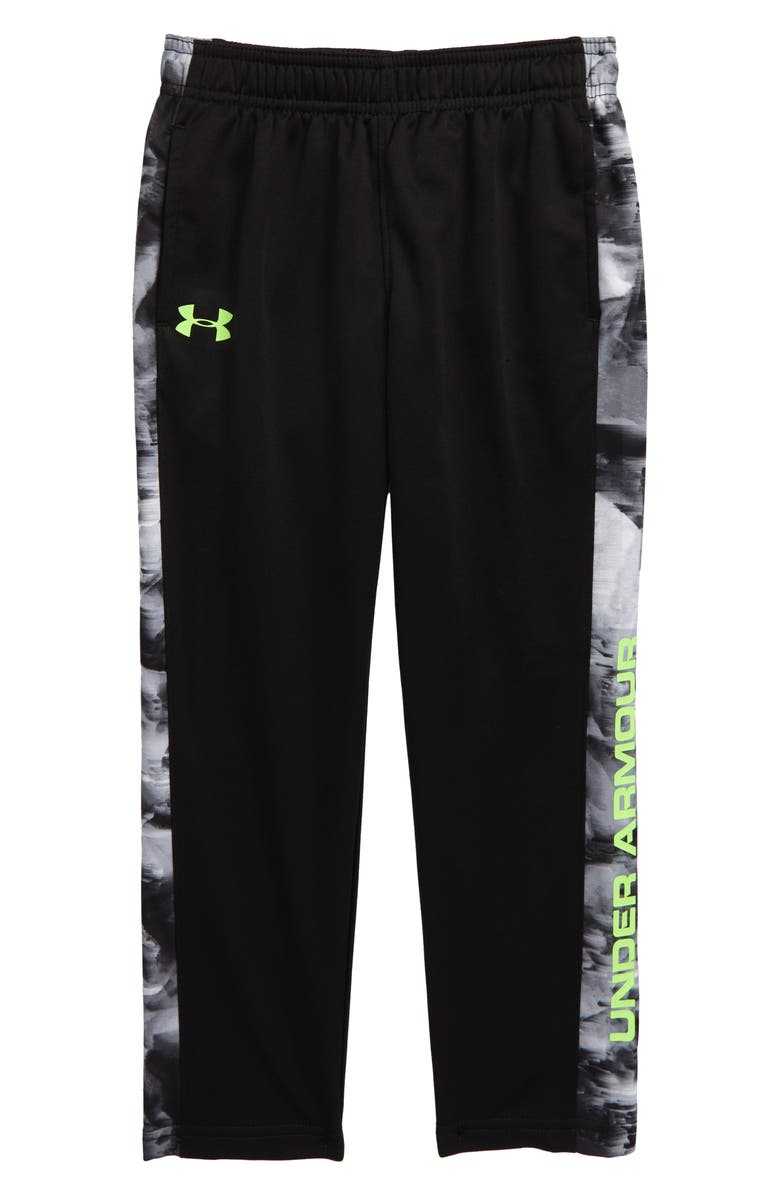 UNDER ARMOUR Stampede Pants, Main, color, BLACK