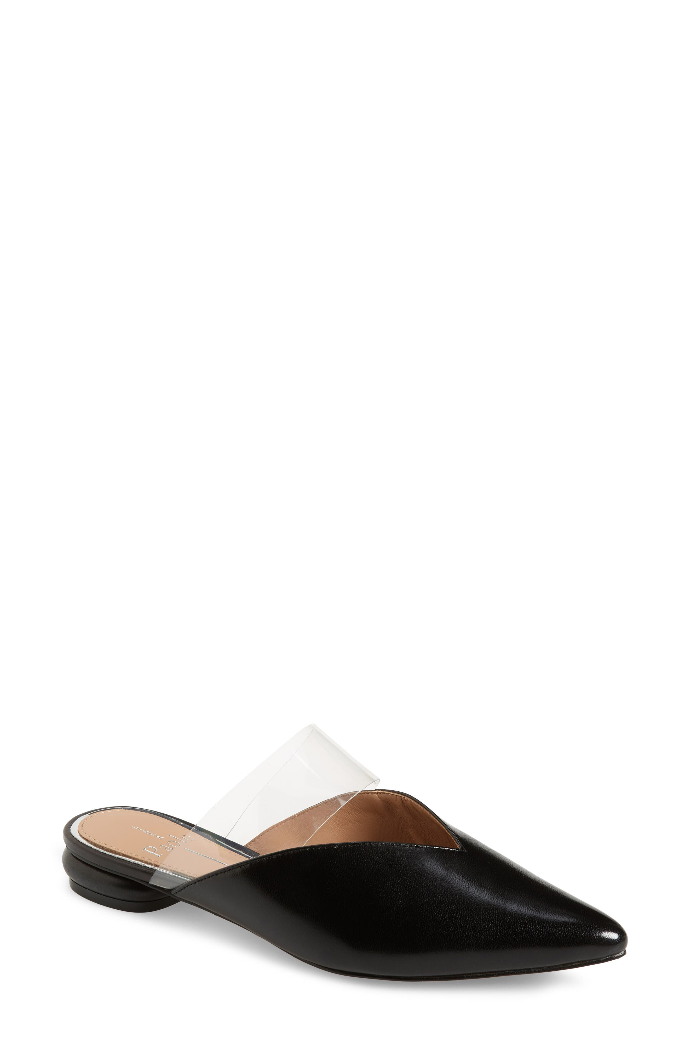 Abril Pointed Toe Mule