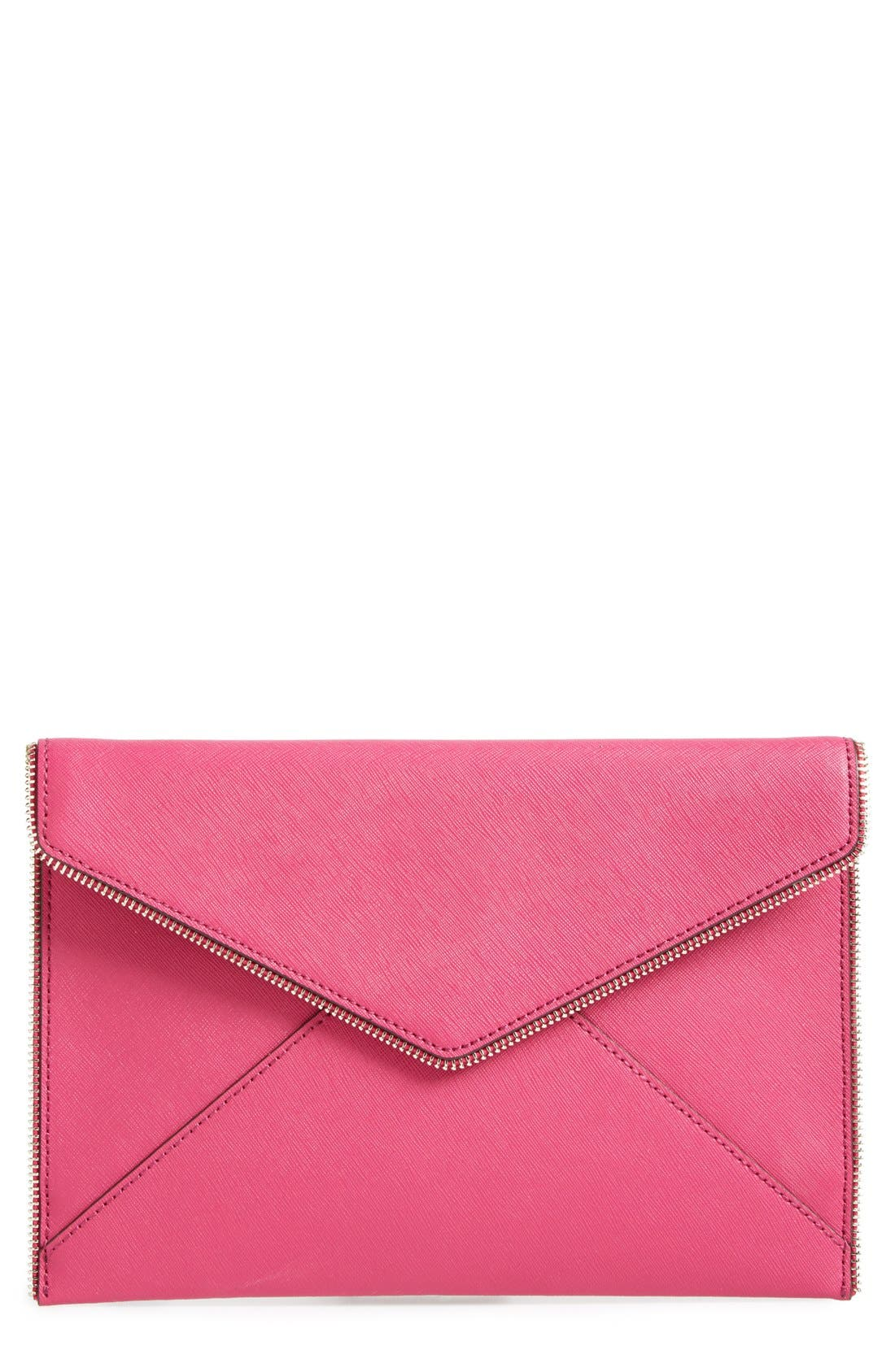 ,                             Leo Envelope Clutch,                             Main thumbnail 270, color,                             654