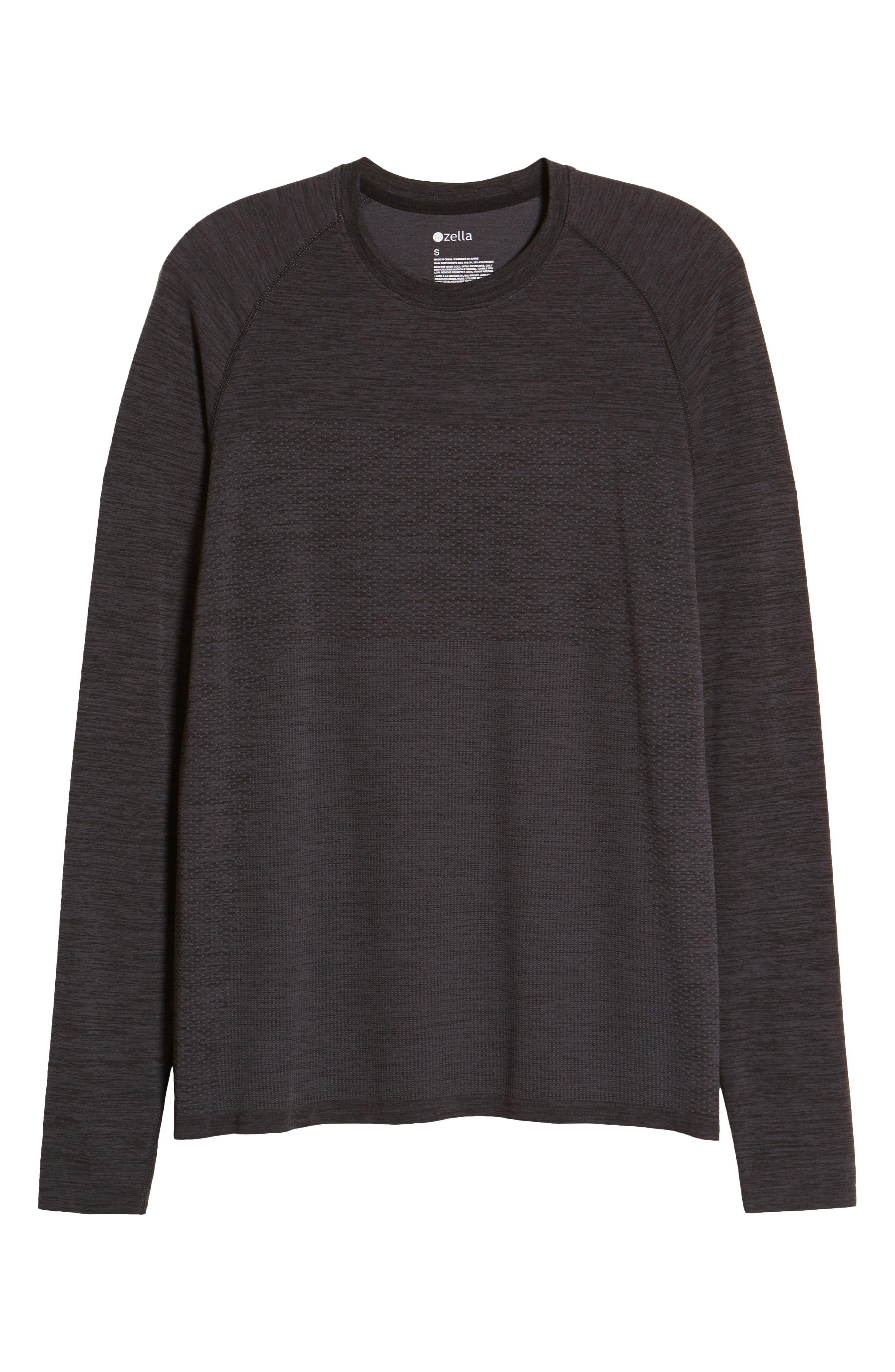 Zella T-shirts SEAMLESS LONG SLEEVE T-SHIRT