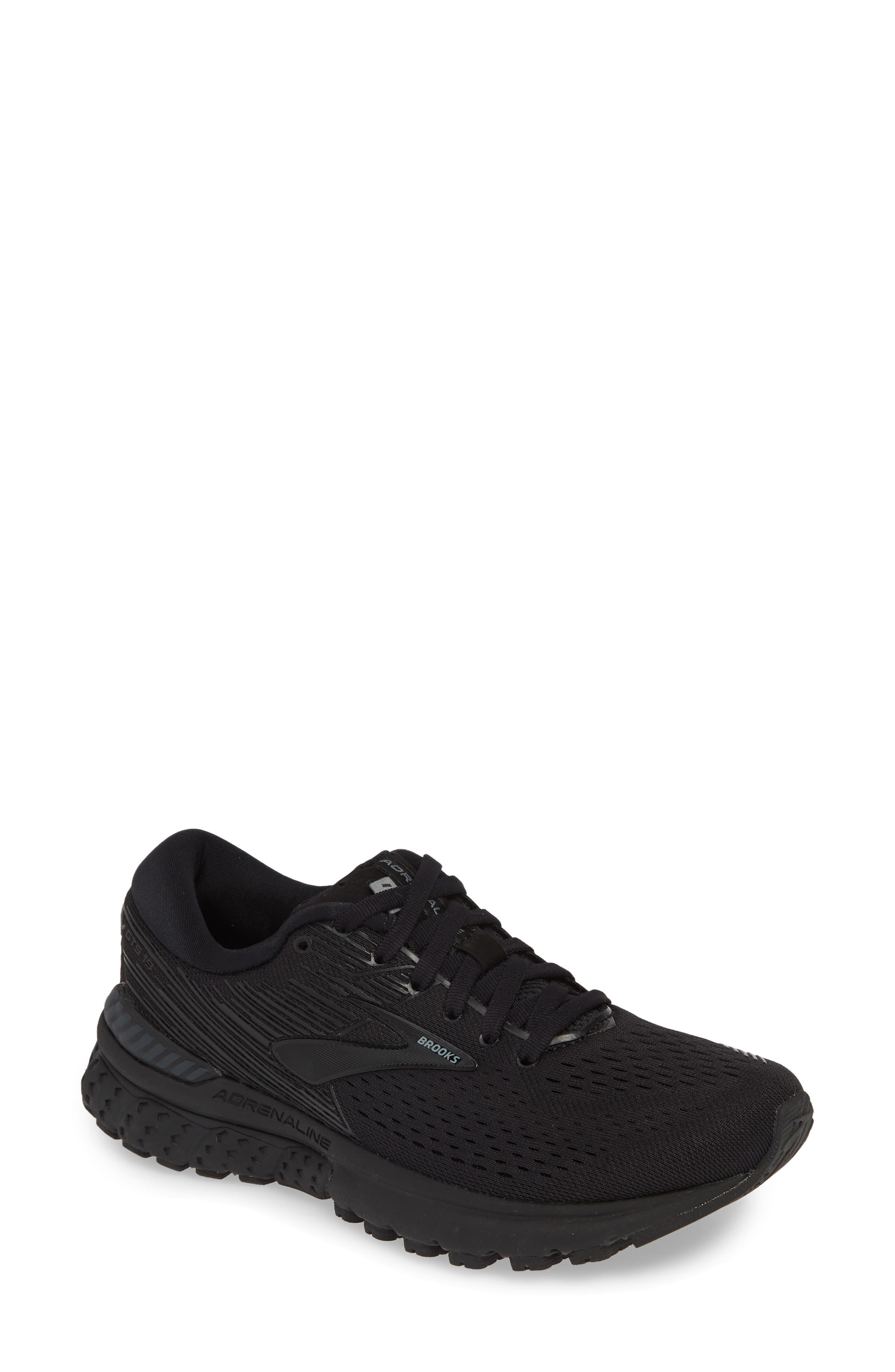 Brooks Adrenaline Gts 19 Running Shoe, Black