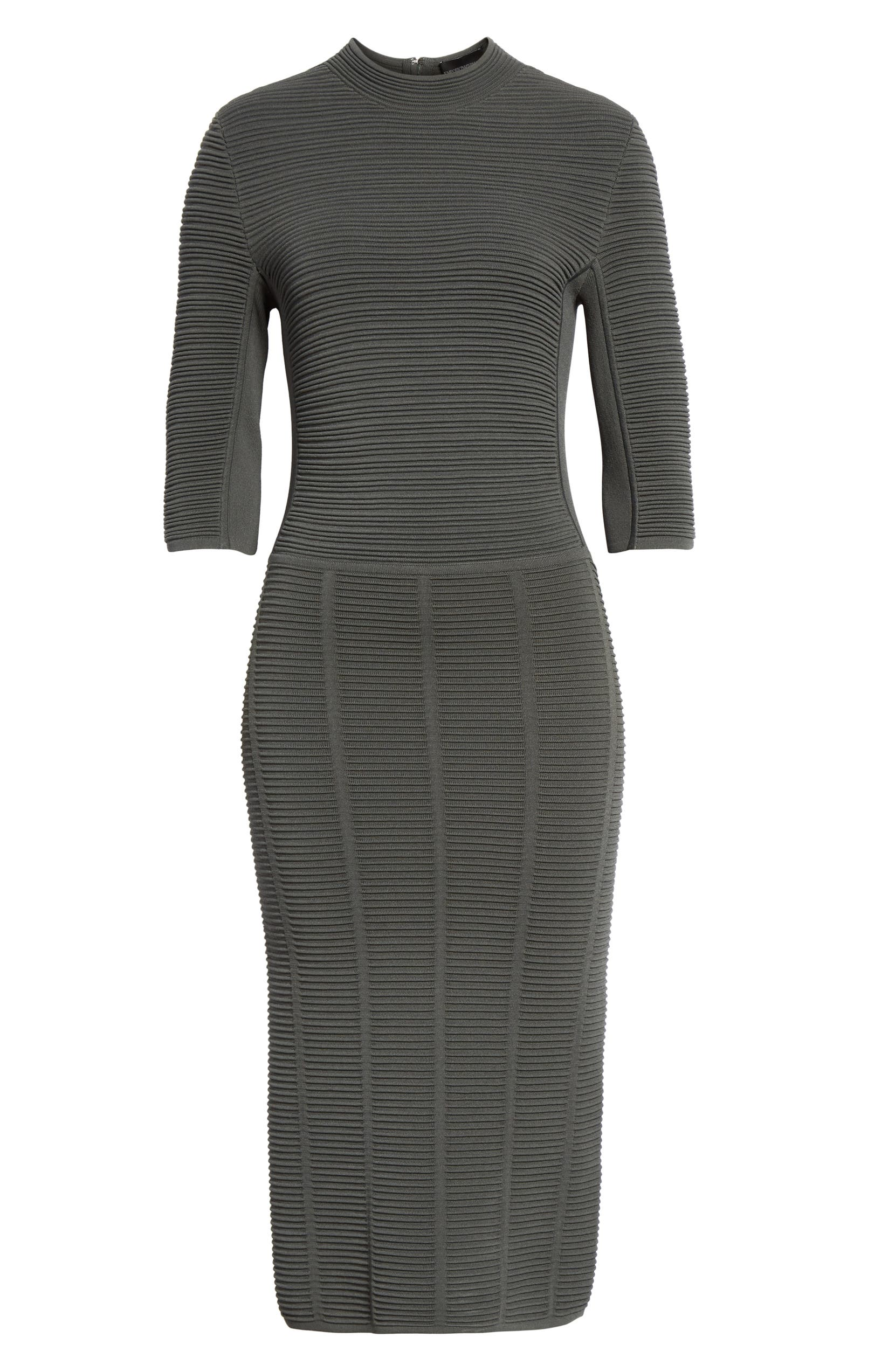 7b3b999969f9c Emporio Armani Ottoman Body-Con Sweater Dress | Nordstrom