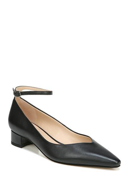 Image of Franco Sarto Karlyn Leather Block Heel Pump