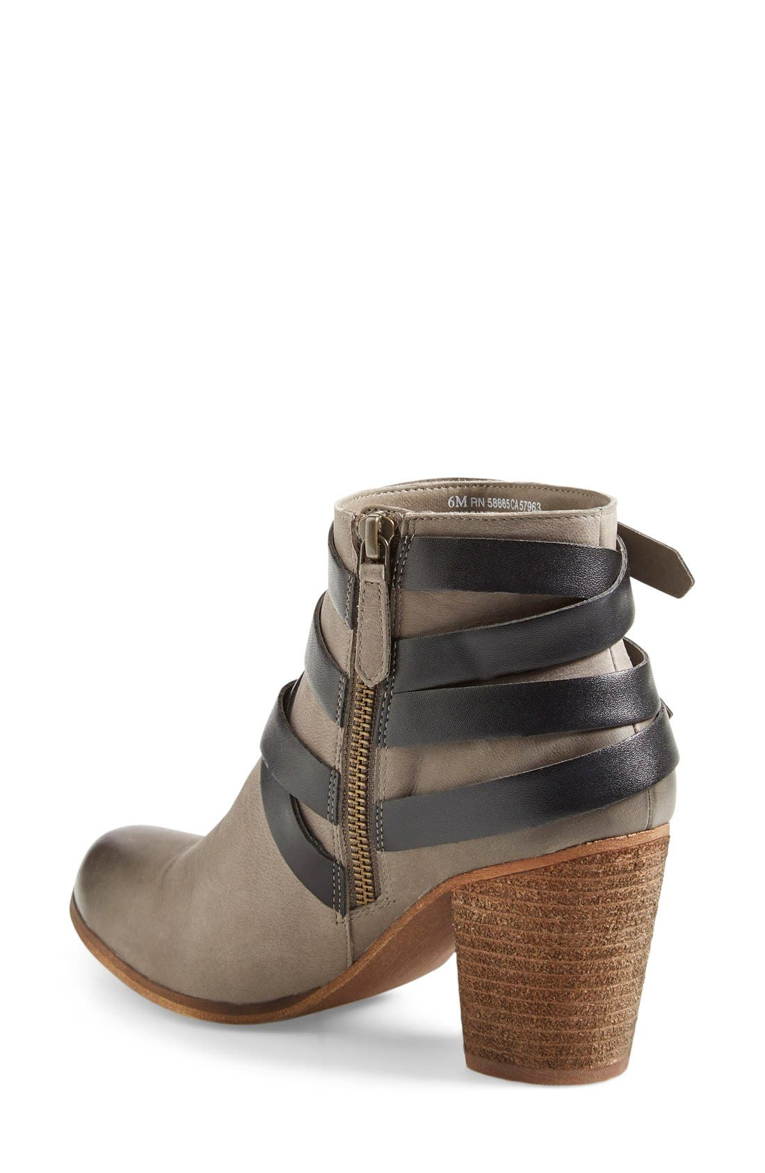 ,                             'Train' Wrap Belted Bootie,                             Alternate thumbnail 11, color,                             025