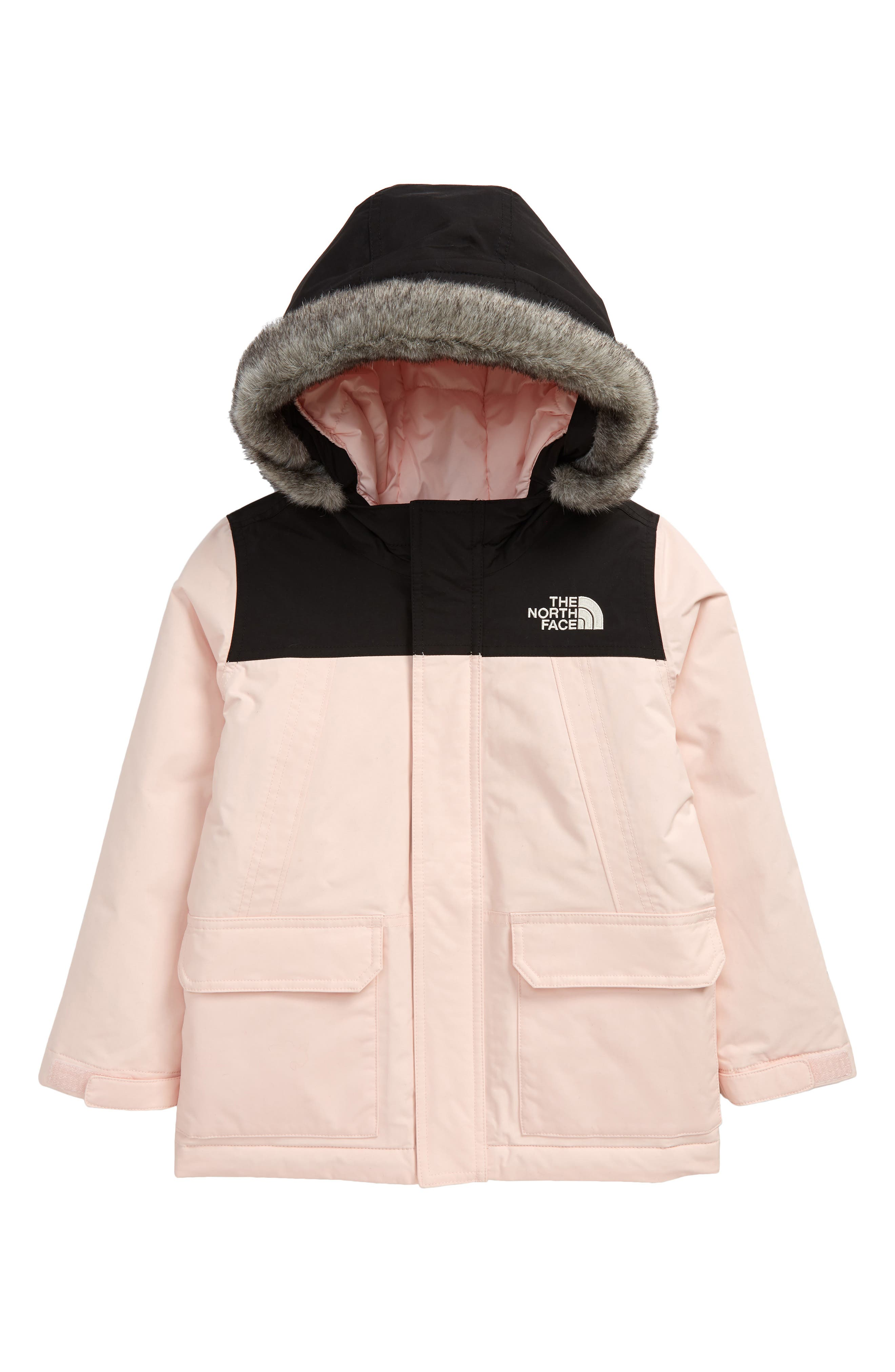 Image of The North Face Kids' McMurdo Waterproof 550 Fill Power Down Parka with Faux Fur Trim