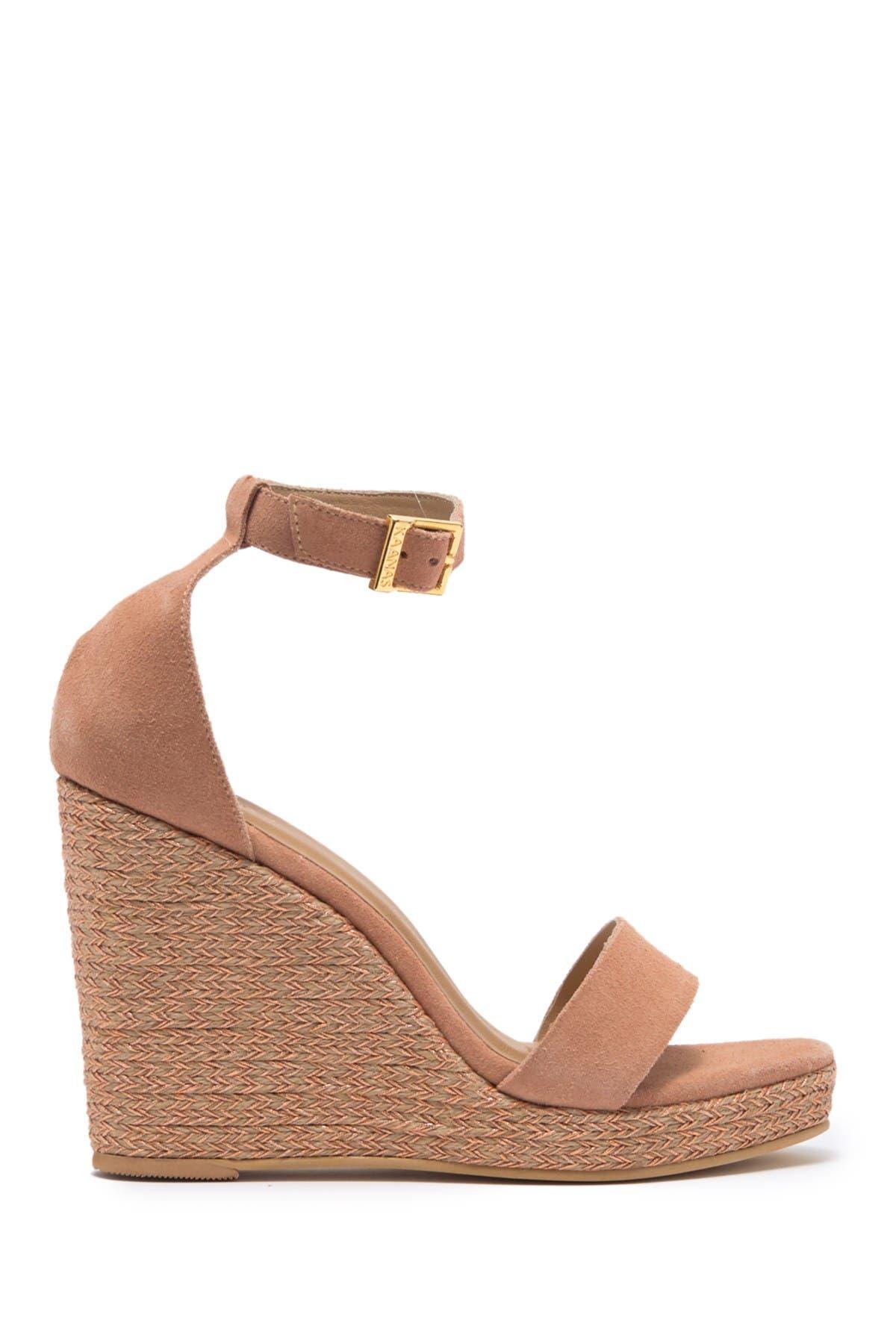 Image of Kaanas Eleuthera Ankle Strap Espadrille Wedge Sandal