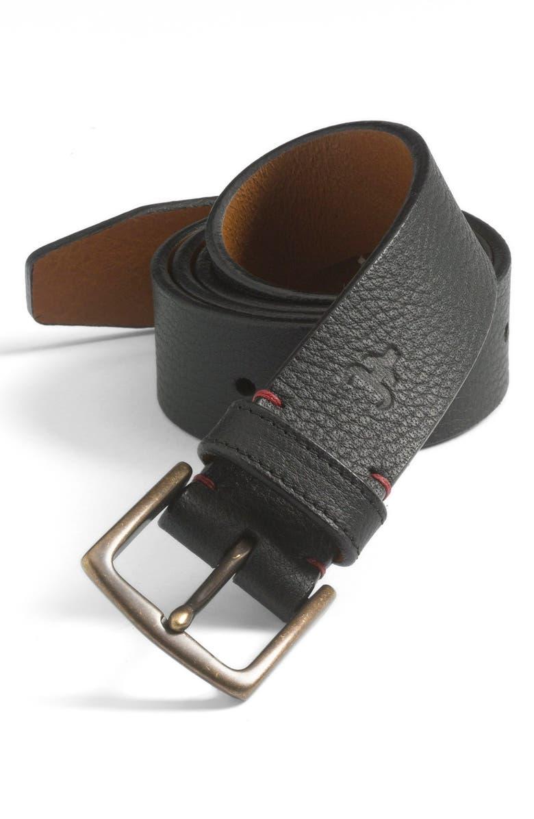 TRASK 'Elkhorn' Belt, Main, color, BLACK ELK