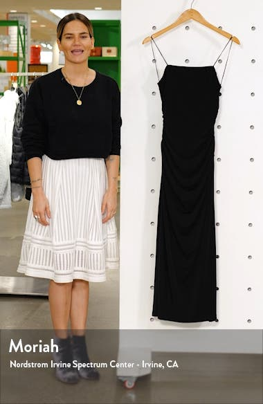 Neptune Ruched Knit Midi Dress, sales video thumbnail