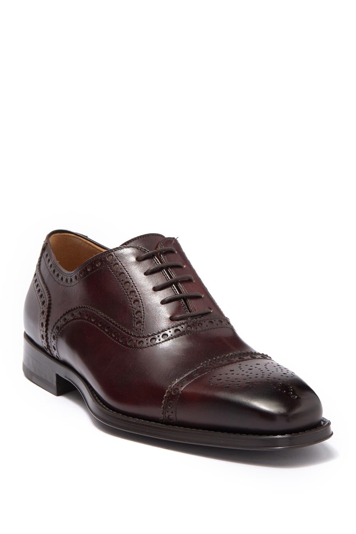 Image of Magnanni Cieza Leather Brogue Oxford