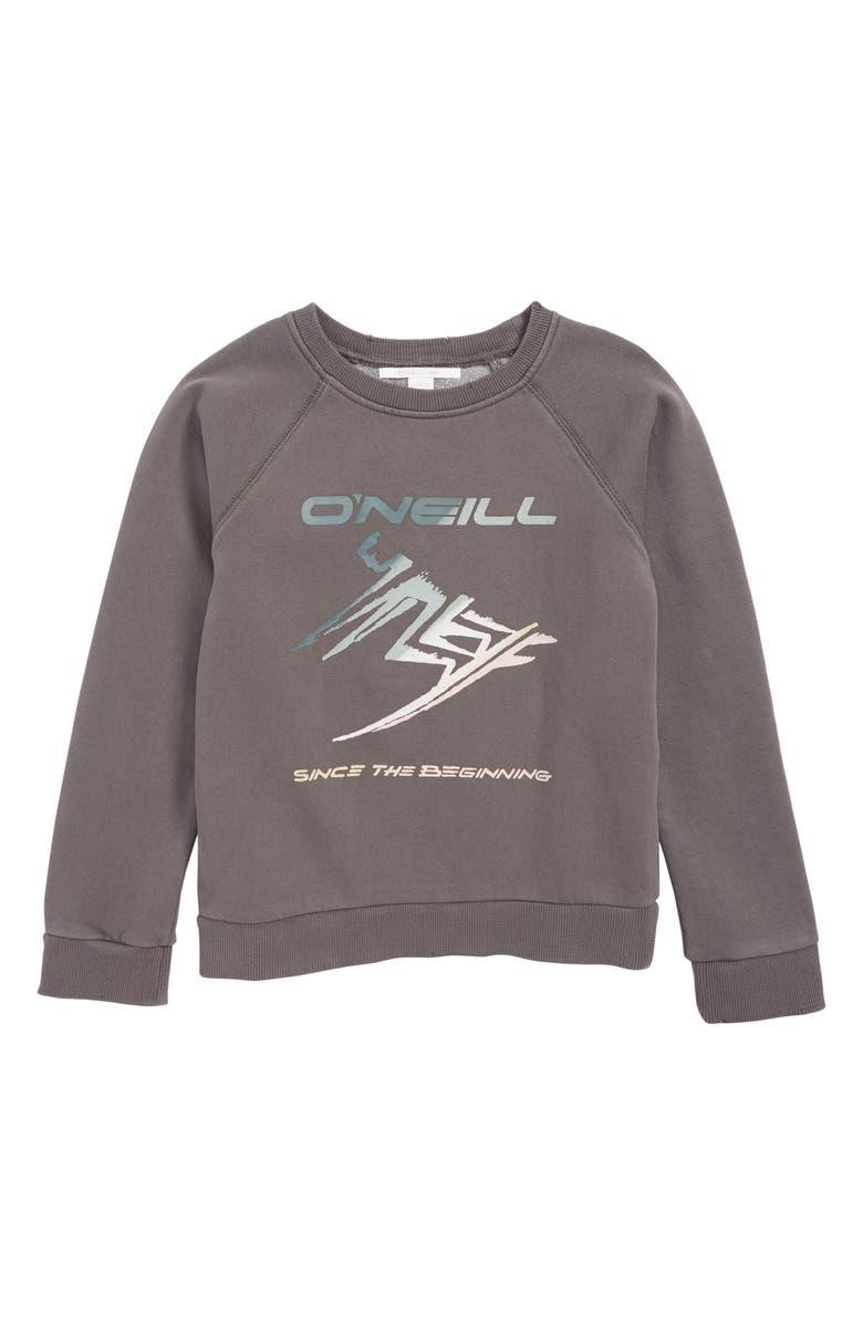 O'NEILL Way Pullover Sweatshirt, Main, color, EXCALIBUR