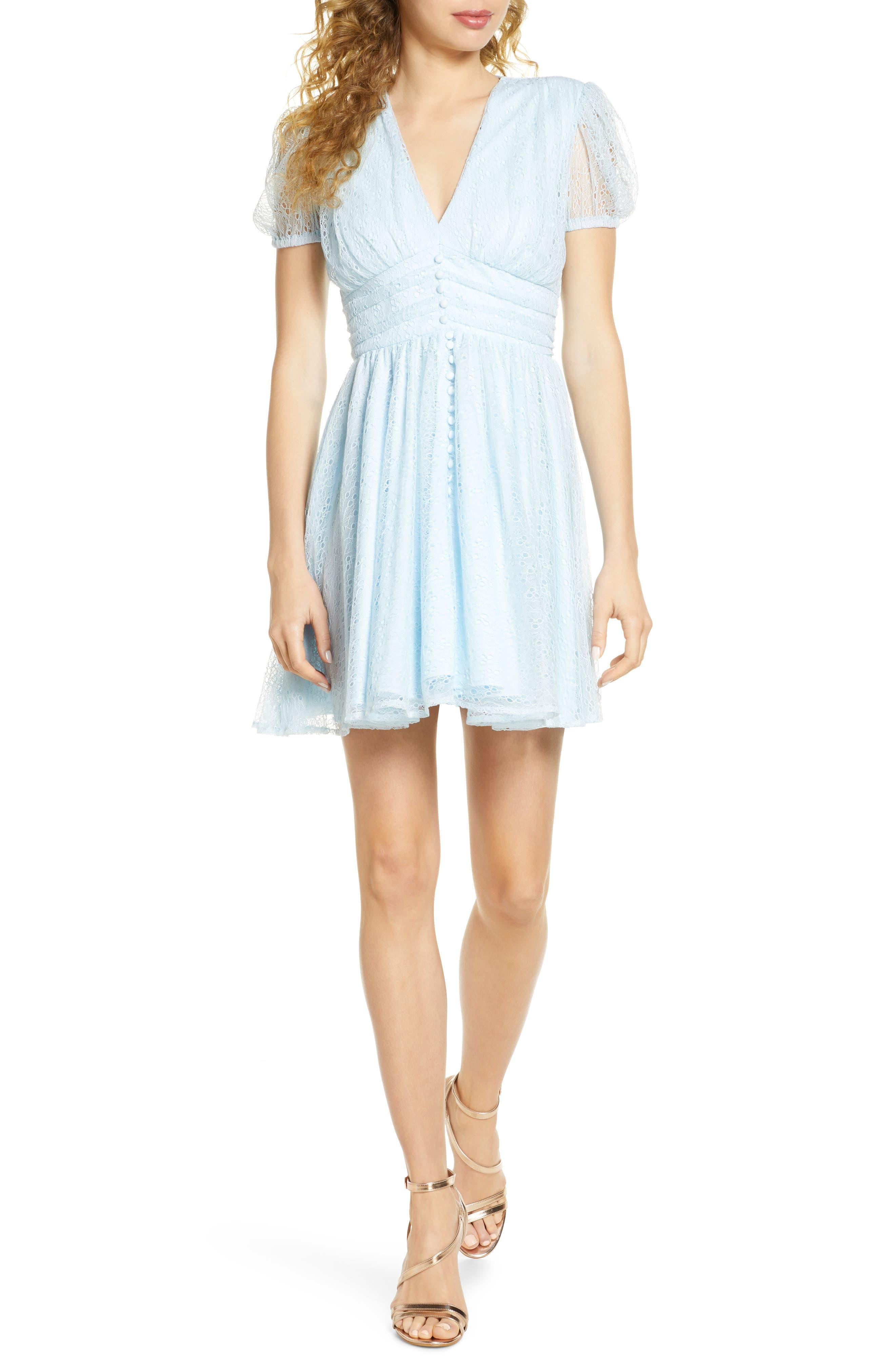 Image of Bardot Bonnie Puff Sleeve Dress
