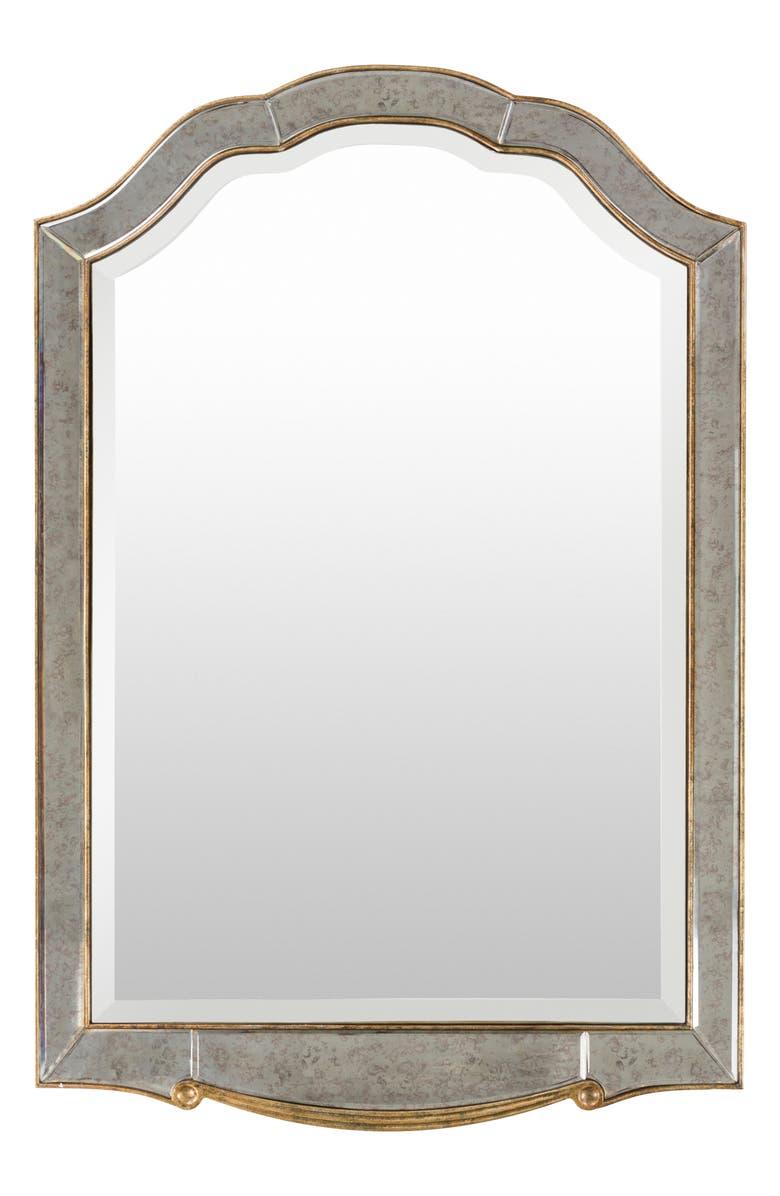 SURYA HOME Oleander Mirror, Main, color, SILVER