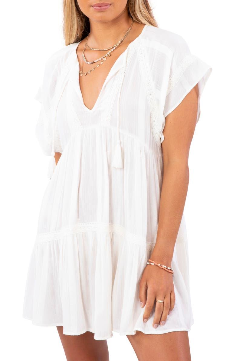 RIP CURL Sweet Mornings Minidress, Main, color, 106