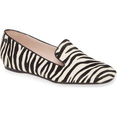 Calvin Klein Hannah Genuine Calf Hair Loafer, Black