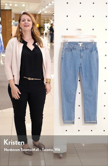 Step Hem Ankle Skinny Jeans, sales video thumbnail
