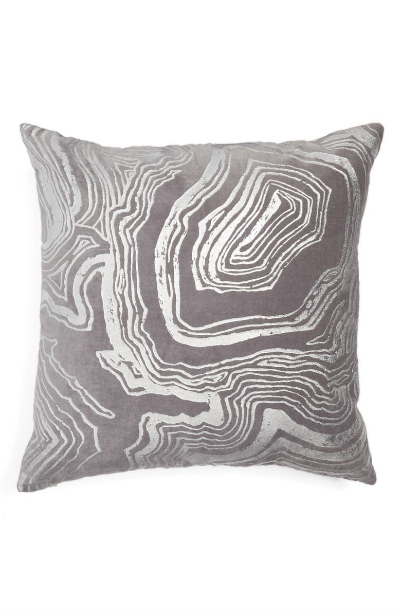 NORDSTROM at Home Foil Print Pillow, Main, color, 030