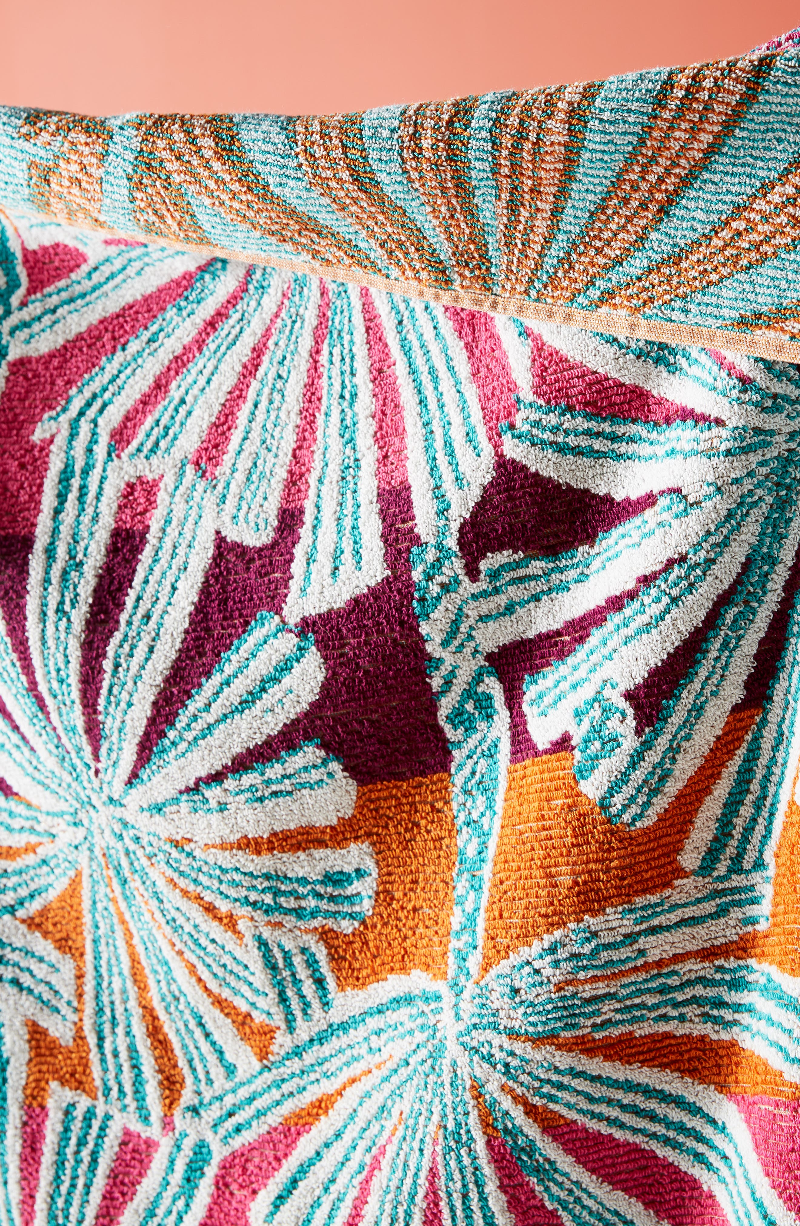 ,                             Palm Beach Cotton Beach Towel,                             Alternate thumbnail 2, color,                             WARM