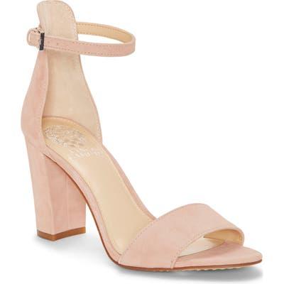 Vince Camuto Corlina Ankle Strap Sandal- Pink (Nordstrom Exclusive)