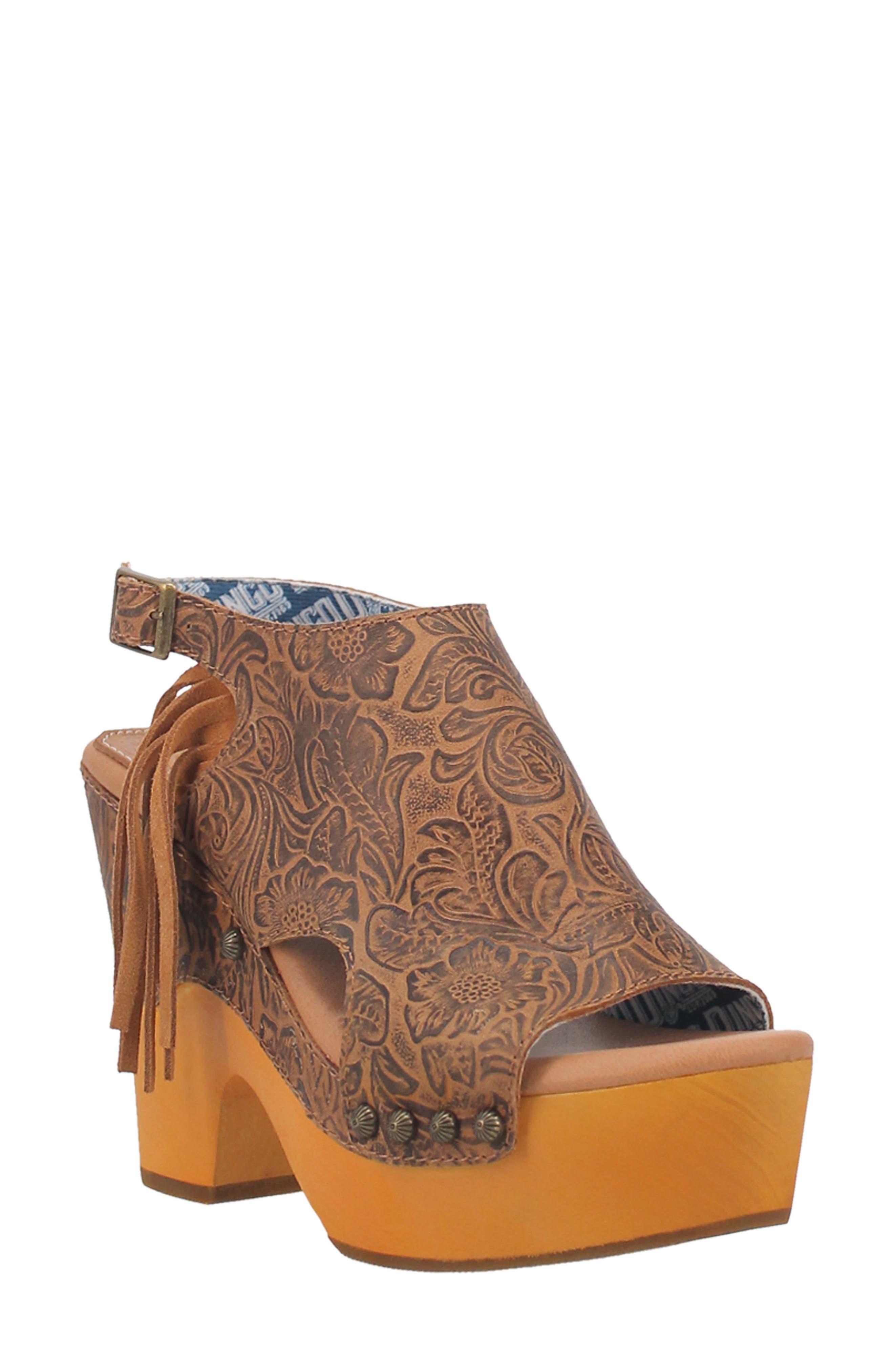 Morocco Slingback Platform Sandal