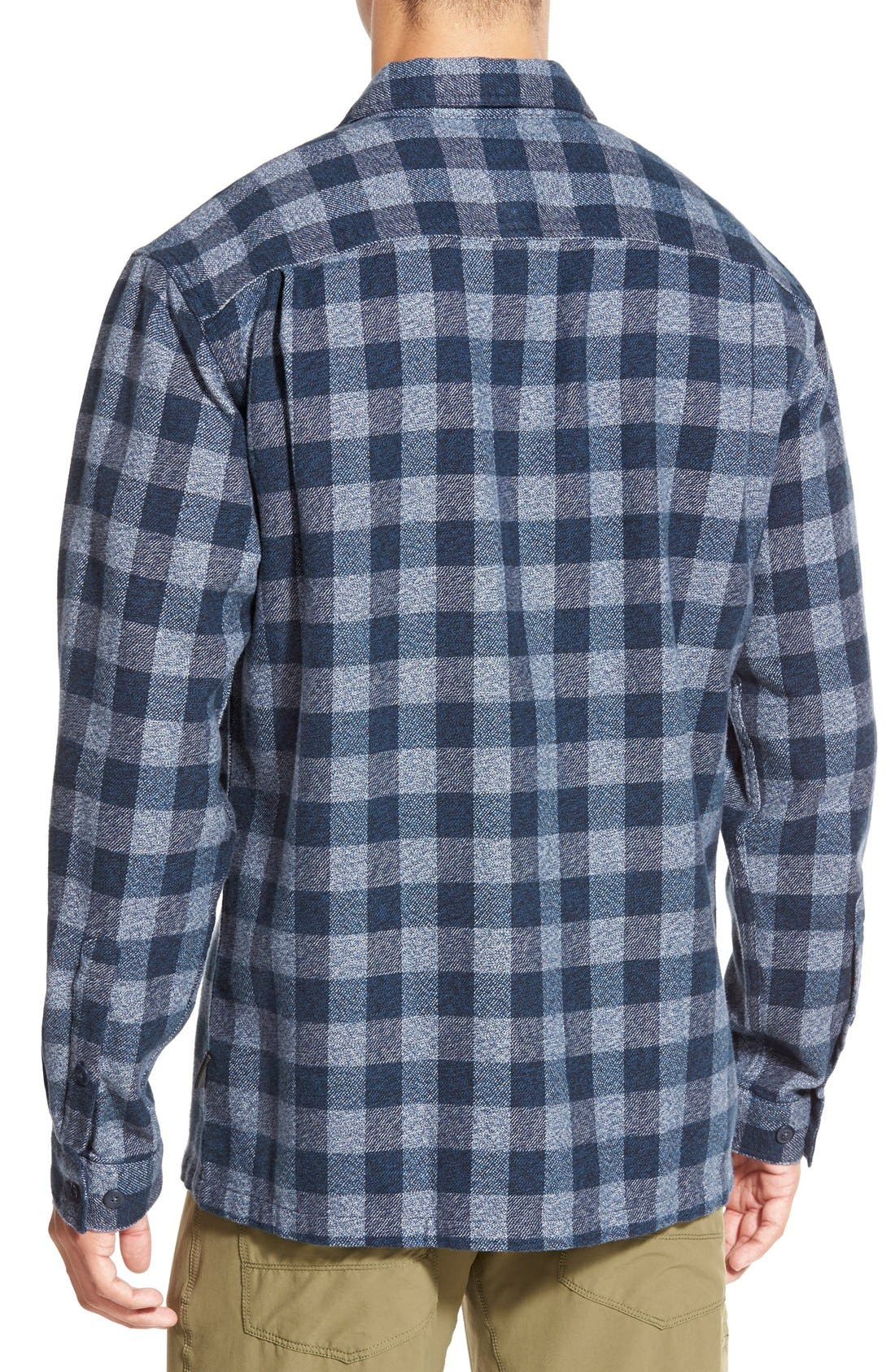 ,                             'Fjord' Regular Fit Organic Cotton Flannel Shirt,                             Alternate thumbnail 38, color,                             414