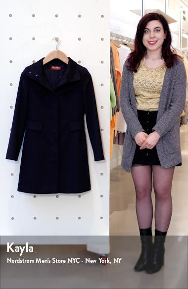 Agnese Wool Coat, sales video thumbnail