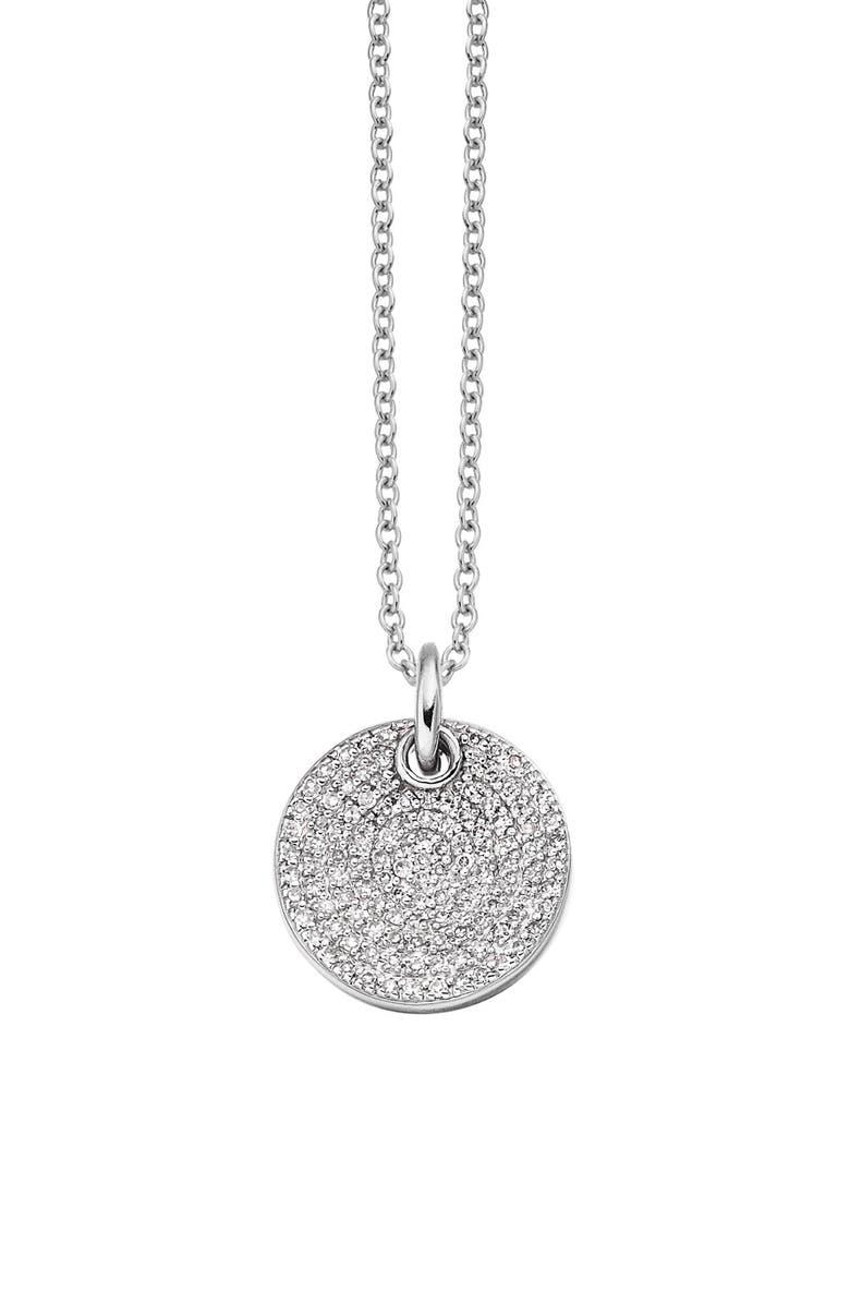 MONICA VINADER Ava Diamond Disc Pendant Charm, Main, color, 040