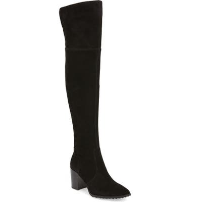Blondo Tatum Waterproof Over The Knee Boot- Black