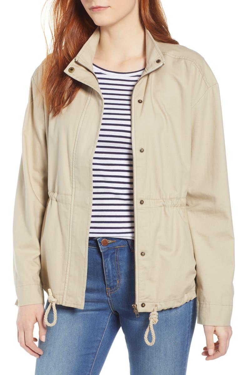 CASLON<SUP>®</SUP> Utility Jacket, Main, color, 230