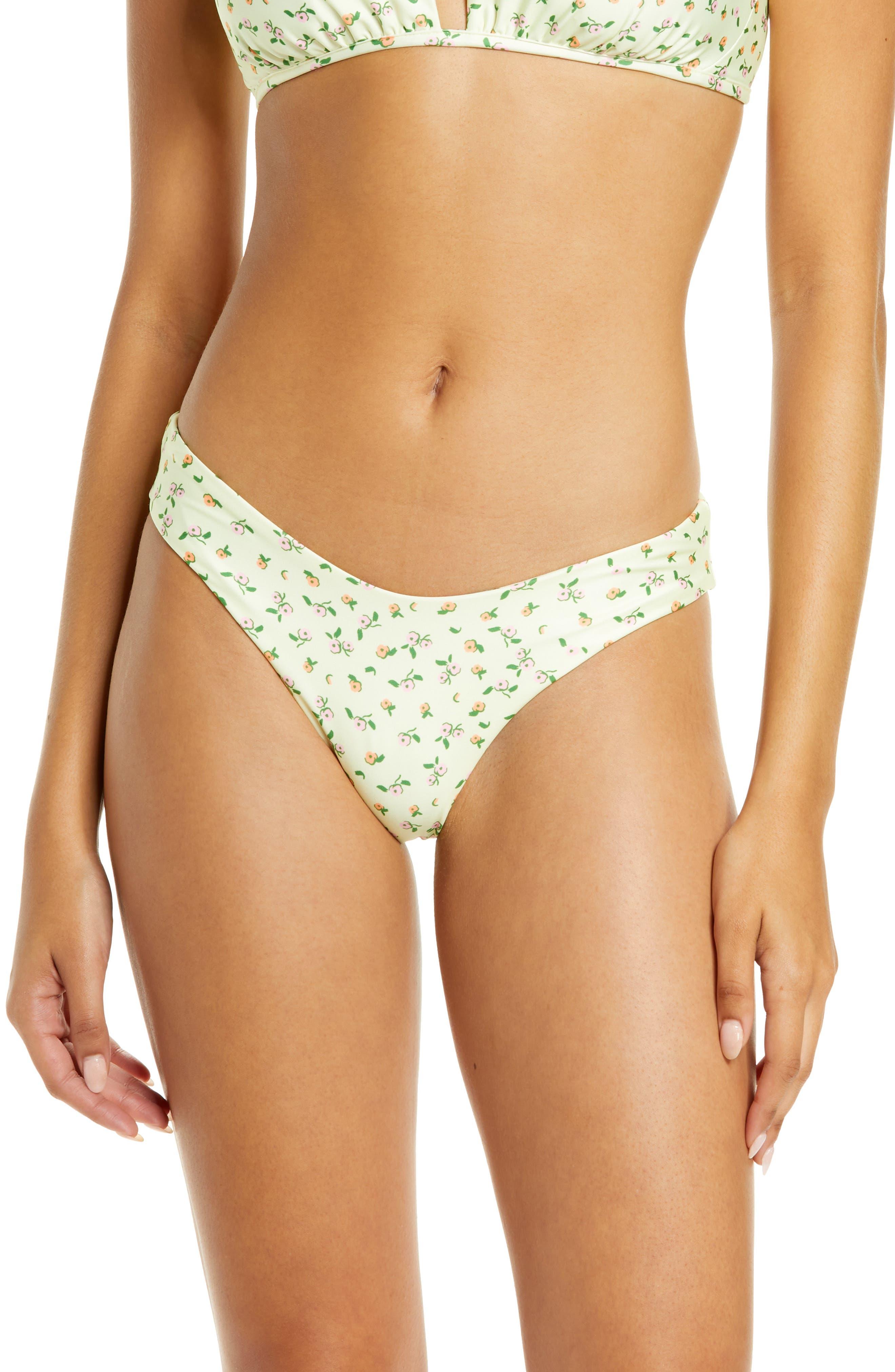 Love Whispers Journey Reversible High Cut Bikini Bottoms