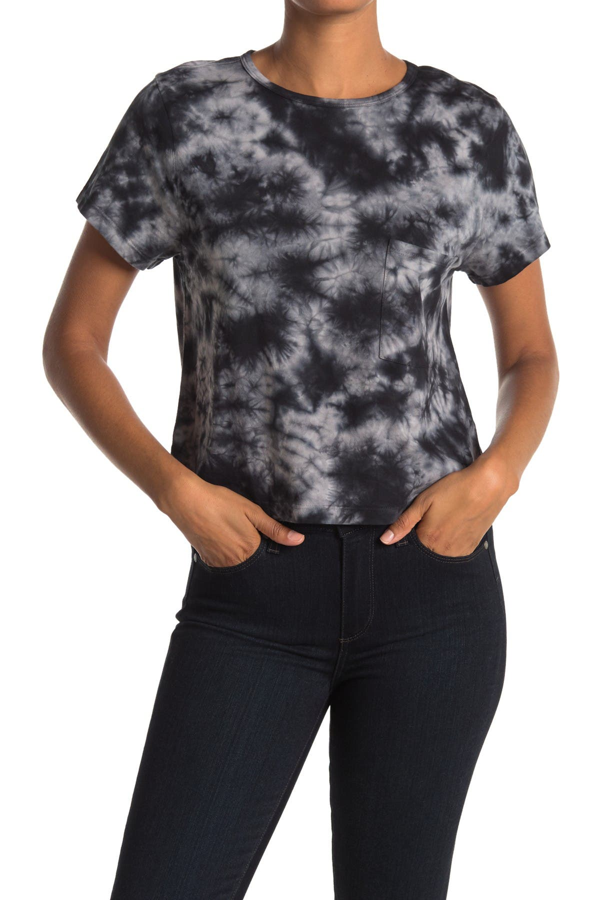 Image of Threads 4 Thought Maggie Crop Cloud Wash T-Shirt